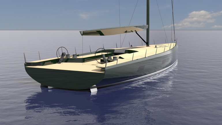 MILLS 75 MAXI DOLPHIN: A CRUISER/RACER ELEGANCE, TECHNOLOGY, COMFORT AND PERFORMANCE