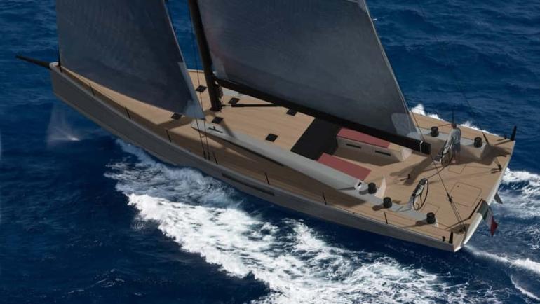 Il nuovo Maxi Dolphin MD62ab verso il mare